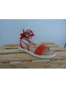 Sandales synthétique lacées Sandales