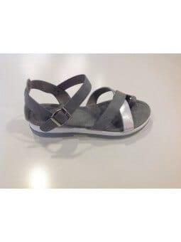 Sandales grises Sandales