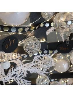 Sapin de Noël métallique Noël
