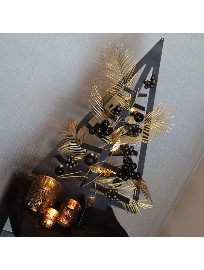 Sapin de Noël métallique (petit modèle) Noël